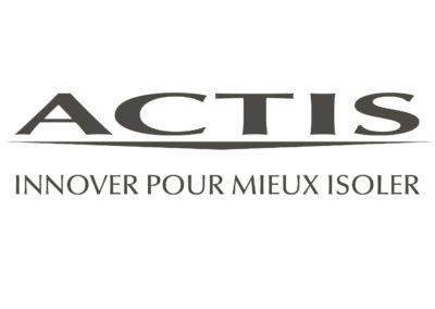 actis logo - partenaire boissy couverture isolation